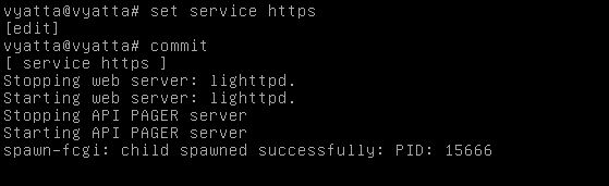 Configuring an IP address and enabling services such as SSH