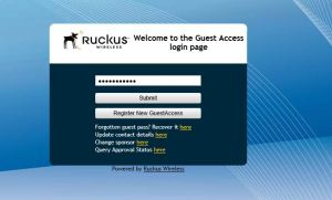 ruckus wireless's guest pass