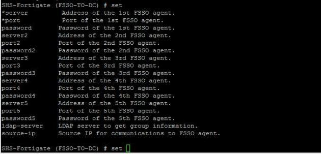 fsso-show-options