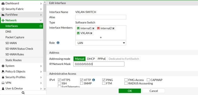 VXLAN Encapsulation in FortiGate